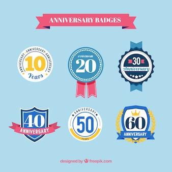 Distintivi anniversary pack