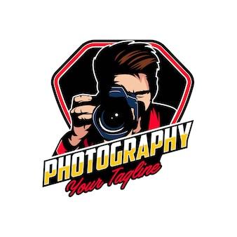 Distintivi del logo fotografia della macchina fotografica