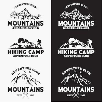 Distintivi delle montagne
