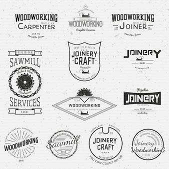 Distintivi di lavorazione del legno