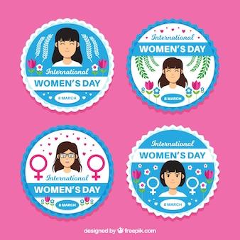 Distintivi internazionali delle donne