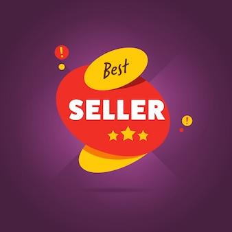 Distintivo best seller piatto