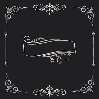 Distintivo d'argento di turbinio dell'annata