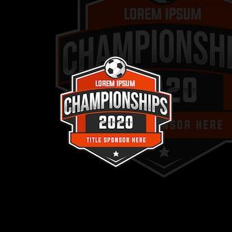 Distintivo del campionato sport 2020