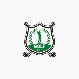 Distintivo del logo del golf club