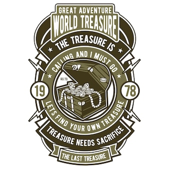 Distintivo del tesoro mondiale
