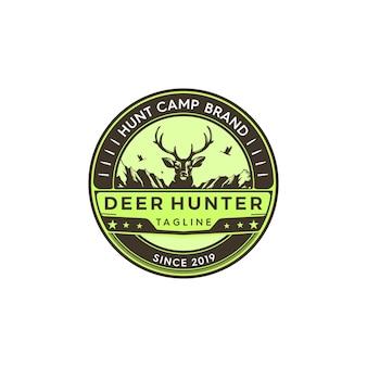 Distintivo di cacciatore di cervi