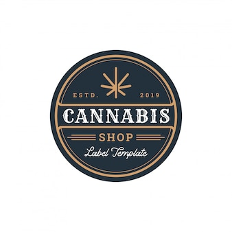 Distintivo di cannabis