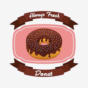 Distintivo di ciambelle dolci