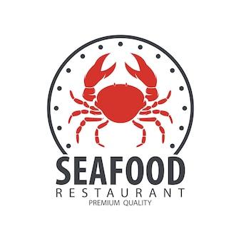 Distintivo di design dei frutti di mare