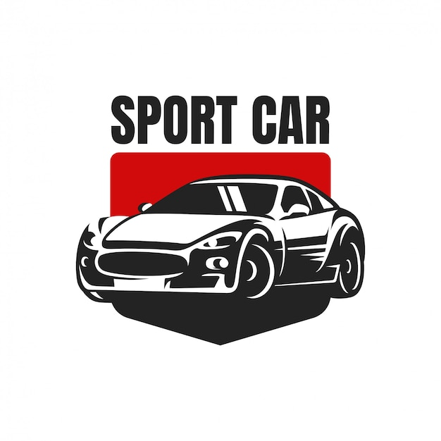 Distintivo di logo di auto sportiva