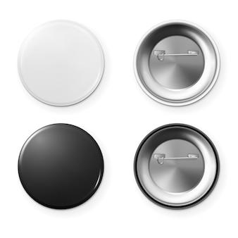 Distintivo di pulsante vuoto.
