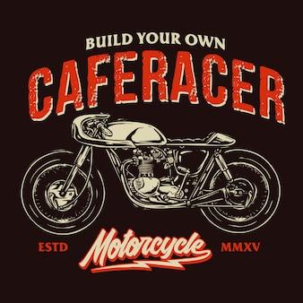 Distintivo di racer cafe
