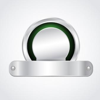 Distintivo in metallo