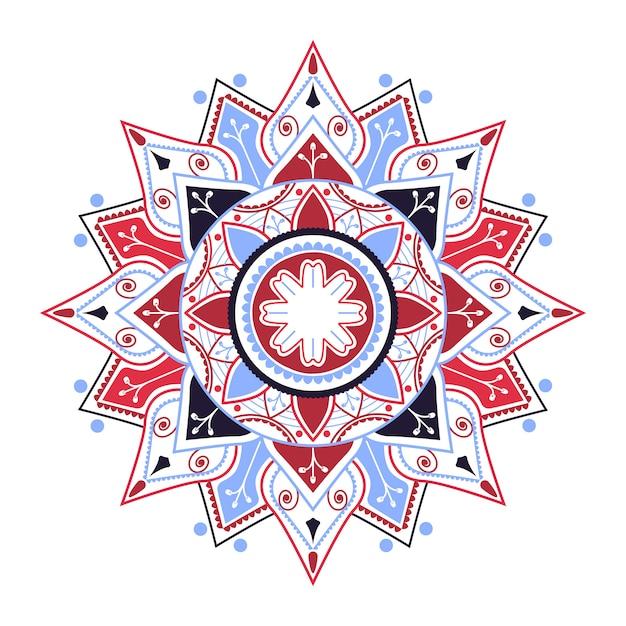 Distintivo mandala indiano