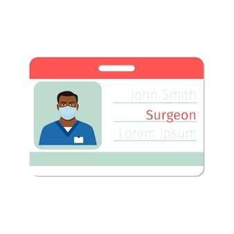 Distintivo medico specialista chirurgo