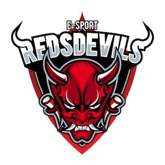 Distintivo moderno di logo sportivo professionale per un club o una squadra