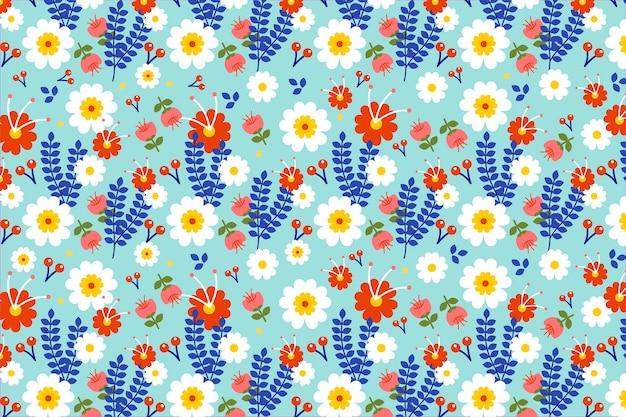 Ditsy motivo floreale sfondo