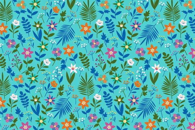 Ditsy sfondo stampa floreale