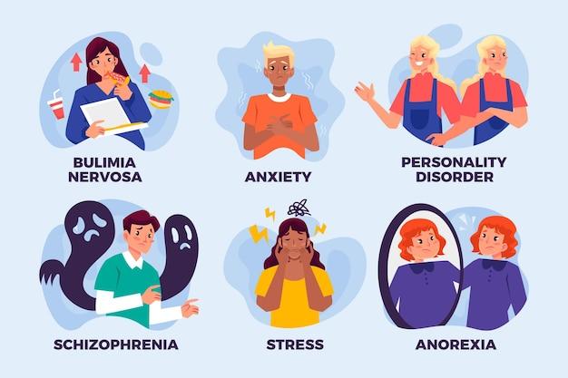 Diversi disturbi mentali