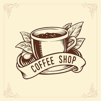 Diversi tipi di tazze con caffetteria calda