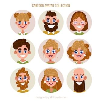 Divertente avatar collezione