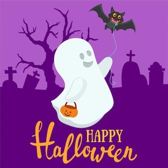Divertente decorazione di halloween