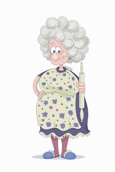 Divertente nonna
