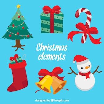 Divertente varietà di elementi natali