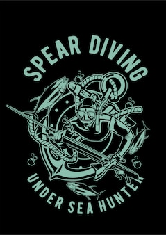 Diving spear