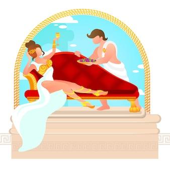 Divinità sul monte olimpo, miti e leggende