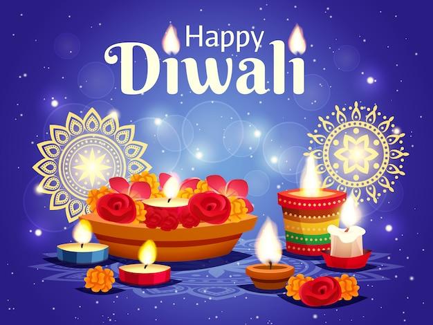 Diwali realistico
