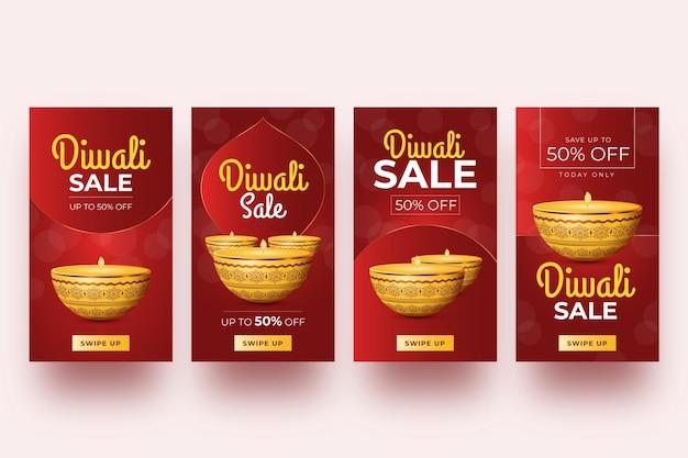 Diwali vendita storie di instagram