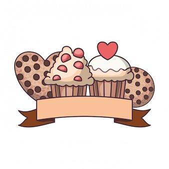 Dolci e biscotti deliziosi da forno