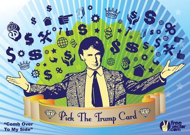 Donald trump elezione vettore