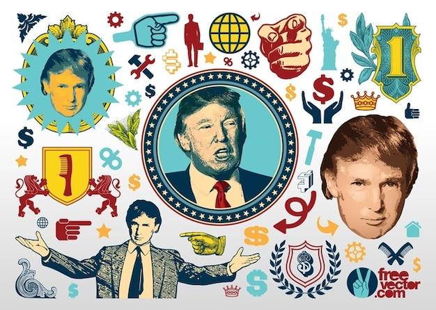 Donald trump grafica