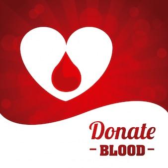 Donare il disegno del sangue
