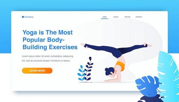 Donna che pratica yoga, esercizio pincha mayurasana