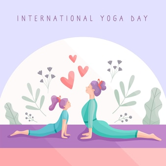 Donne che praticano yoga insieme