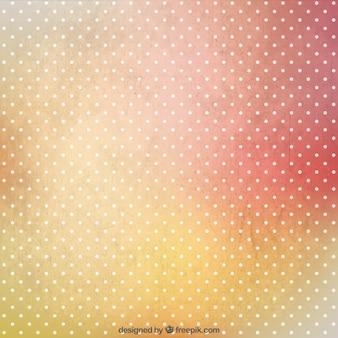 Dots sfondo in stile sgangherato