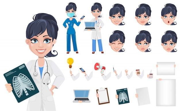 Dottore donna, personale medico professionale