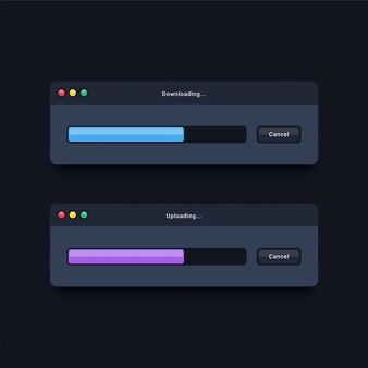 Download e caricamento di modelli di finestre
