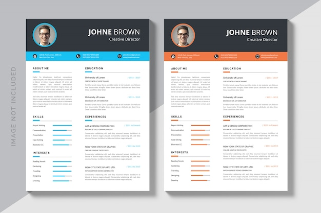 Download in formato cv modificabile