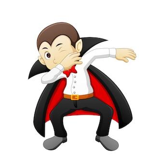 Dracula di cartone animato di doppiaggio