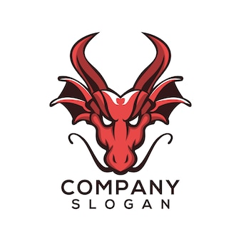Drago logo vettoriale