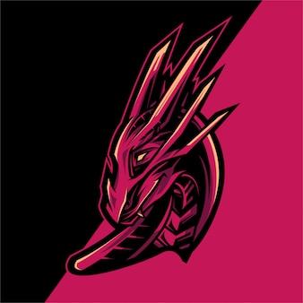 Dragon logo esport team