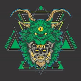Dragone verde