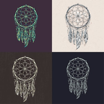 Dreamcatcher disegna collezione
