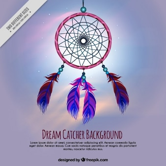 Dreamcatcher sfondo onirico