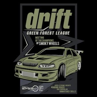 Drift green forest league